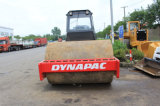 12ton Ce / SGS Usado 25ton / Vibrating-Capacidad Alemania-Deutz-motor Sheep-Pies-Capped Dynapac Ca25pd Road Roller