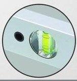Livello della casella di DIY con 3 fiale (700808, da 300mm-2000mm)