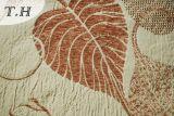 2016 310GSM에 의하여 자카드 직물 소파 직물을 길쌈하는 큰 단풍나무 잎
