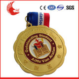La aduana caliente de la venta se divierte la medalla del trofeo del metal