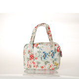 (99184) 방수 PVC 화포 꽃 어깨에 매는 가방 Retro 핸드백