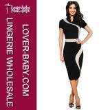 Изготовление платья женщин качества (LL36119-1)