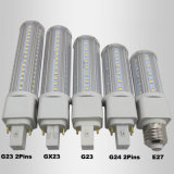 Diodo emissor de luz do G-24 da lâmpada do PLC do Pin do poder superior 4