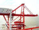déchargeuse sur rail de bateau de l'encavateur 1000t pour la cargaison en bloc