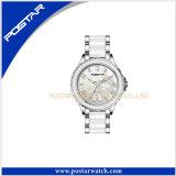 Polshorloge van de Manier van het Horloge van de gift het Witte Unisex-
