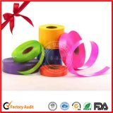 Farbiges Geschenk-Verpackungs-Farbband-Regenbogen-Farben-Plastikballon-Farbband in der Rolle