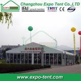 De grote Tent van de Markttent van de Tentoonstelling met de Muur van het Glas
