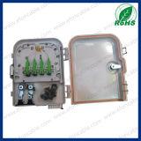 8 boîte d'arrêt de coffret d'extrémité de fibre des ports FTTH/Caja Fibra Optica 8 Puerto