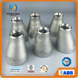 Réducteur concentrique sans joint ASME B16.9 (KT0346) d'acier inoxydable