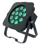 Indicatore luminoso piano di PARITÀ di RGBWA 12X5w LED per illuminazione della fase (ICON-A034)
