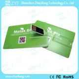 Movimentação feita sob encomenda do USB do cartão de crédito 8GB do presente da campanha da arte -final (ZYF1828)