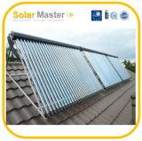 Riscaldatori spaccati di energia solare di pressione
