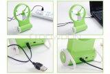 휴대용 소형 USB 팬 재충전 전지 소형 팬 2 바탕 화면 팬