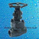API602 a modifié les soupapes à vanne en acier d'extrémité de la bride A105 ou de l'amorçage