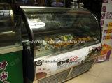Congelatori italiani della visualizzazione del Popsicle del gelato di Gelato