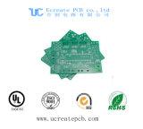 PCB конкурентоспособной цены для MP3 с зеленой маской припоя