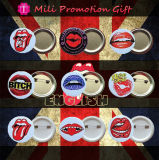 80's Music и значок Set Pin Bands Movies Image Plastic Button