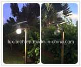 Lumière solaire avec la lampe de DEL pour la lumière extérieure