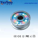Il professionista 18W IP68 impermeabilizza l'indicatore luminoso subacqueo della fontana di RGB LED