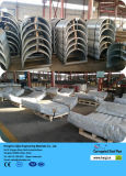 Galvanisiertes Surface Treatment und Round Section Shape Corrugated Steel Plate