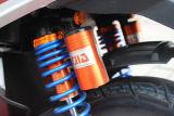 """""""trotinette"""" elétrico da qualidade 1000 duráveis com os amortecedores da parte traseira do saco do diodo emissor de luz e de gás"""