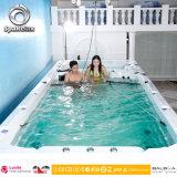 Плавательный бассеин мощной СПЫ Swim массажа напольный с Jacuzzi