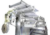 Máquina de etiquetado plana neumática llena semiautomática de la etiqueta engomada de la botella de Automactic