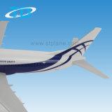 Atranのスケールのプラスチック飛行機モデルB737-400 1/100 36cm