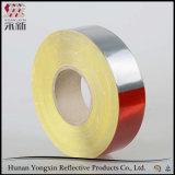Galvanisierte Bienenwabe-rotes und weißes reflektierendes Band für Auto-Aufkleber