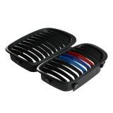 Décoration de emballage avant noire de grils de Matt de type de véhicule pour la porte 98-01 de BMW E46 4