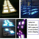 고품질 사각 타입 2 색깔 LED 위원회 빛
