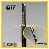Hartmetall-einzelne Flöte CNC-Prägescherblöcke für Holzbearbeitung