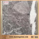 Слябы мрамора гранита украшения стены мрамора черного льда каменные полируя