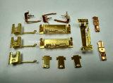 Conetores de bronze elétricos do cobre do terminal de contato da precisão