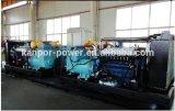 gas natural silencioso de 180kVA 200kVA 160kw/generador eléctrico de la potencia del biogás