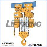 Élévateur à chaînes électrique de 10 T avec le bouton Emergency