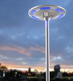 Facile installer tous dans un grand dos lumineux élevé solaire de plaza de réverbère bleu-clair et blanc