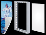 Алюминиевая рамка рекламируя коробку ткани индикации светлую
