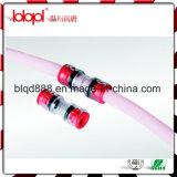 Connecteurs optiques de haute qualité de Microduct de fibre de Hantang FTTH, connecteurs de tuyauterie de fibre de HDPE transparents