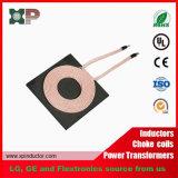 Transmisor y receptor sin hilos de carga sin hilos de la bobina del cargador del teléfono del módulo de Qi
