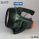 Nuova 10W torcia ricaricabile del CREE LED con la batteria 5500mAh