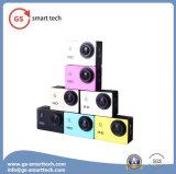 L'affissione a cristalli liquidi 2inch di HD completa 1080 impermeabilizza la videocamera portatile di sport delle videocamere portatili della macchina fotografica di Digitahi di azione di sport DV di 30m