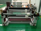 Papel automático horizontal que raja y máquina el rebobinar