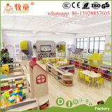Mobília de escola colorida das crianças do projeto, tabela pré-escolar de /Furniture Chaildren da mobília das crianças/tabela do jardim de infância