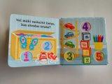L'usine personnalisent la sensation drôle de Learning&Playing d'impression et touchent le livre de panneau pour des gosses