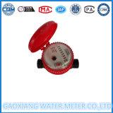 Mètre d'eau froide ou chaude de corps en nylon à courant simple