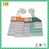 QualitätpapierHangtags für Kleid/Schuh