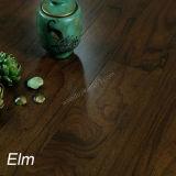 Умножьте проектированный вязом настил твёрдой древесины с квартирой цвета пятна и настилом Handscraped деревянным