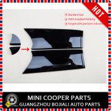 De gloednieuwe ABS Plastic UV Beschermde Zwarte Kleur van Union Jack met Dekking Van uitstekende kwaliteit van het Handvat van de Deur de Binnen voor Mini Cooper F56 (2 Geplaatste PCs)