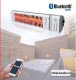 Calefator infravermelho elétrico do anúncio publicitário do calefator do pátio do calefator IP65